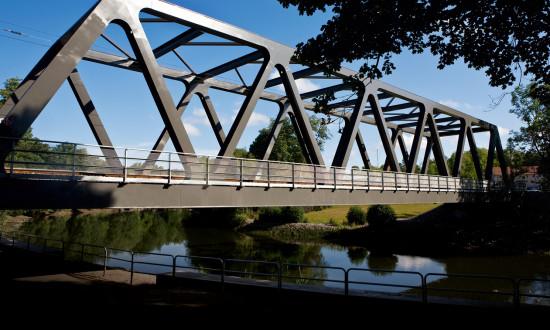 Järnvägsbro över Nyköpingsån